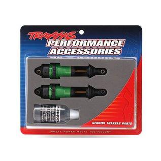 Traxxas TRA7461G  Rustler/Slash 4x4 GTR Long Green Shocks long for (2)