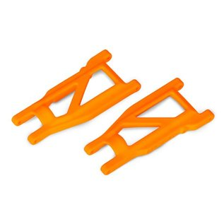 Traxxas TRA3655T  Suspension arms, orange, front/rear (left & right) (2)