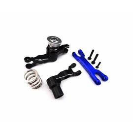 HOT RACING HRAXMX48M06  Aluminum Servo Saver Bellcrank Steering for Traxxas X-Maxx