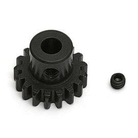 Team Associated ASC89517  Steel Pinion Gear, 17T, Mod 1, 5 mm shaft B3.1E & T3.1E