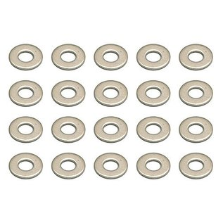 Team Associated ASC89278  Washers, M2.6x6 mm  TC7.2 T3  B3  B6.1/D