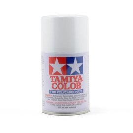 Tamiya 86001 PS-1 Polycarb Spray White 3 oz
