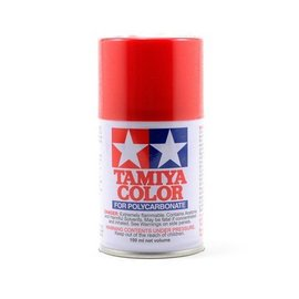 Tamiya 86002 PS-2 Polycarb Spray Red 3 oz