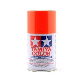 Tamiya TAM86007 PS-7 Polycarb Spray Orange 3 oz
