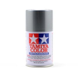 Tamiya TAM86012 PS-12 Polycarbonate Spray Silver 3 oz