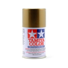 Tamiya TAM86013 PS-13 Polycarb Spray Gold 3 oz