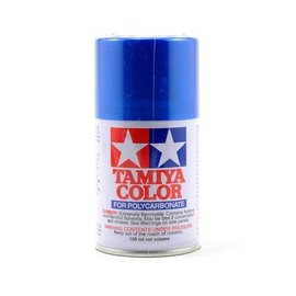 Tamiya TAM86016 PS-16 Polycarb Spray Metal Blue 3 oz