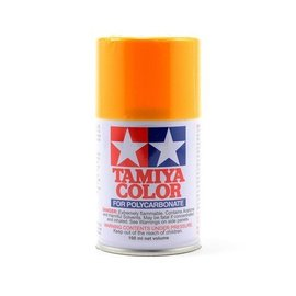 Tamiya TAM86019 PS-19 Polycarbonate Spray Camel Yellow 3 oz