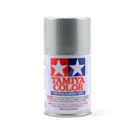 Tamiya 86041 PS-41 Polycarbonate Spray Bright Silver 3 oz