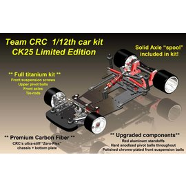 CRC CLN3220  CK25 Limited Edition 1:12 Pan Car