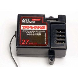 Traxxas TRA2215  Traxxas 27MHz 3-Channel Receiver