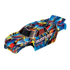 Traxxas TRA3748  Rock n' Roll Rustler Body (Painted w/ Decals)
