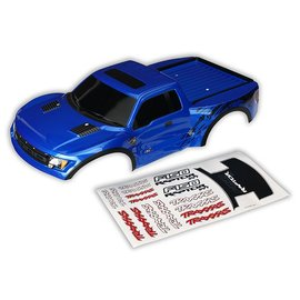 Traxxas TRA5815A  Blue Body  Ford Raptor Painted & Decals Applied