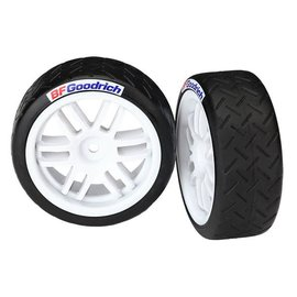 Traxxas TRA7372R  Soft BFGoodrich Rally Tires and wheels (2)