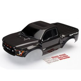 Traxxas TRA5826A  Body, Ford Raptor®, black (heavy duty)/ decals