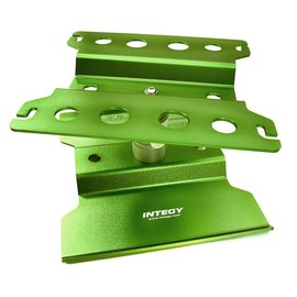 Integy C27025GREEN Universal Car Stand Workstation for 1/10 Size (140x136x100mm)
