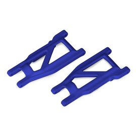 Traxxas TRA3655P  Suspension arms, blue, front/rear (left & right) (2)  Rustler 4x4