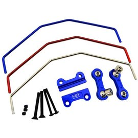 HOT RACING HRAXMX311X06 Aluminum Sway Bar, Front or Rear, for X-Maxx