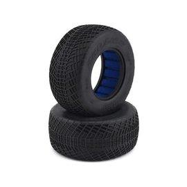 "Proline Racing PRO10137-203  Positron SC 2.2"" 3.0"" S3 (Soft) Tires (2) for SC Trucks"