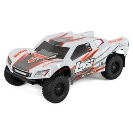 TLR / Team Losi LOS03010T2 Tenacity SCT RTR 1/10 4WD Brushless Short Course Truck (White/Orange)