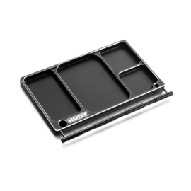 Hudy HUD109880  Aluminum Tray for Accessories & Pit LED