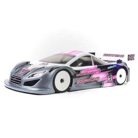 ZooZilla ZR-0005-07  DogsBollox 0.7mm Standard 190mm Touring Car Clear Body Shell