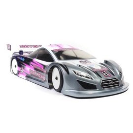 ZooZilla ZR-0005-05  DogsBollox 0.5mm Ultralight 190mm Touring Car Clear Body Shell