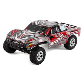 Traxxas TRA58024-RED Slash 1/10 2WD Red, Xl-5 RTR