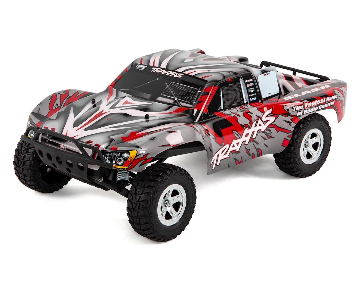 TRA58024-RED Slash 1/10 2WD Red, Xl-5 RTR