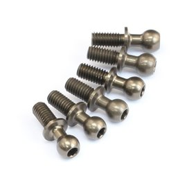 RocheRC USA 310065  Aluminum 4.3x12.7mm Ballstud, Reinforced