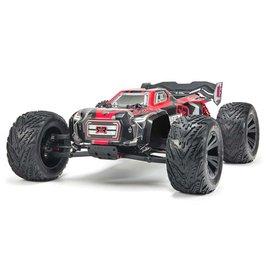 Arrma ARAD81LR  1/8 KRATON 6S BLX Brushless Monster Truck 4WD RTR, Black/Red