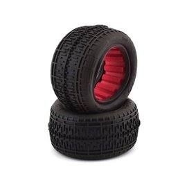 "AKA Racing AKA13108VR  Rebar 2.2"" Rear Buggy Tires w/Red Insert (2) (Super Soft)"