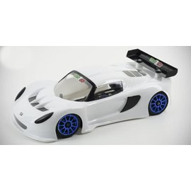 "Mon-Tech Racing MB-018-012L  LTS-GT Superlight ""La Leggera"" 1/12th Body Clear"