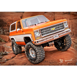 Traxxas TRA82076-4  Orange  TRX-4 1/10 Trail Crawler Truck w/'79 Chevrolet K5 Blazer Body