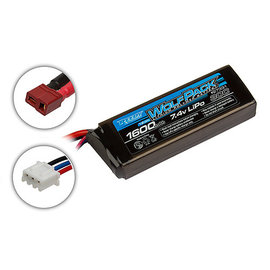 Team Associated ASC27331  Reedy 2S 7.4v 1600mAh 30C LiPo Wolfpack w/ T-Plug Connector
