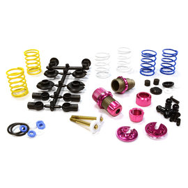 Integy C25910PINK Pink XSR11 Competition 52-55MM Racing Shocks (2) FOR 1/10 TOURING CAR & DRIFT CAR