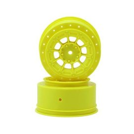 J Concepts JCO3352Y  Yellow Hazard Losi Sct-E Wheel (2)