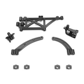 Tekno RC TKR6538  Chassis Brace, Body Mount Set (EB410)