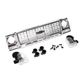 Traxxas TRA8134  TRX-4 Chevy Blazer Grill and Light Assembly