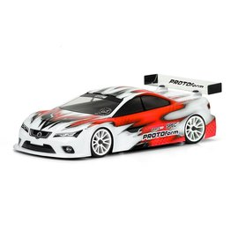 Protoform PRM1568-20  Spec6 X-Lite Weight Clear Body for 190mm Touring Car