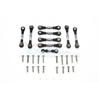 GPM Racing Products GT160-S  Traxxas 4-Tec 2.0 Silver Aluminum Tie Rods