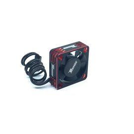 Surpass Hobby USA SP-360003-01 Rocket V1 Aluminum 30mm Cooling Fan Red/Blk