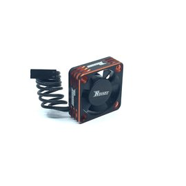 Surpass Hobby USA SP-360003-03 Rocket V1 Aluminum 30mm Cooling Fan Orange/Blk