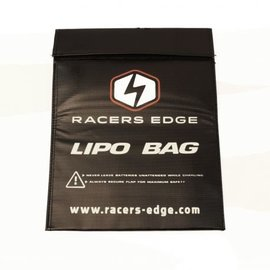 Racers Edge LiPo Safety Sack (300mmx220mm) Black