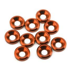 175RC 175-12124  Aluminum Flat Head High Load Spacer (Orange) (10)