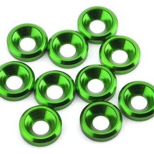 175RC 175-12125  Aluminum Flat Head High Load Spacer (Green) (10)