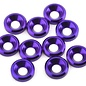 175RC 175-12126  Aluminum Flat Head High Load Spacer (Purple) (10)