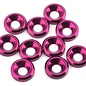 175RC 175-12128  Aluminum Flat Head High Load Spacer (Pink) (10)