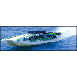 "Traxxas TRA57046-4  Green DCV M41 Widebody 40"" Catamaran RTR Boat"