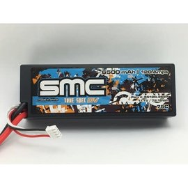 SMC SMC65120-3S2PD  True Spec 3S 11.1V 6500mAh 75C Lipo w/Deans Plug